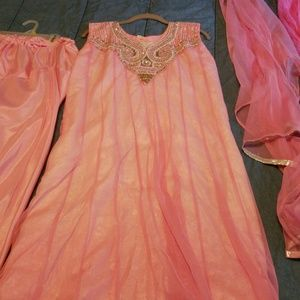 Other - Indian pink muslim/hindu outfit
